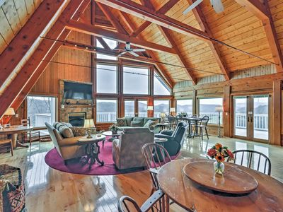 Photo for 5,000 sq ft Banner Elk Home w/ Panoramic Mtn Views