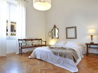 Photo for Great bright apartment in Florence, perfect for a family or a group!