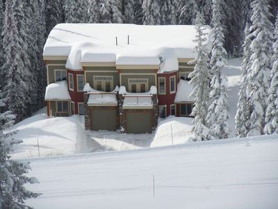 Photo for Snow Dreams Chalet: Luxury Mountain Home with Ski In/out to Downhill and Nordic