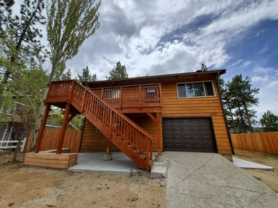 Photo for Rustic Cabin close to Lake and village activities!
