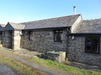 Photo for Mill Cottage - Tintagel Holiday Cottage, for surfing, sunbathing, hiking for all