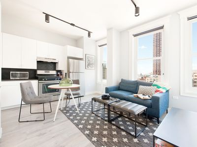 Photo for Sonder | The Plymouth | Desirable 2BR + Rooftop