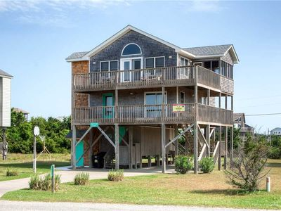 Photo for Spacious Deck w/ a View! Oceanview, Salvo Short Walk to Beach, DogFriendly, WiFi
