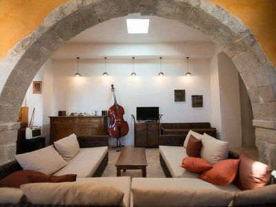 Photo for HOUSE FOR RENT IN CRETE. FRESH, ORIGINALITY AND CALM.