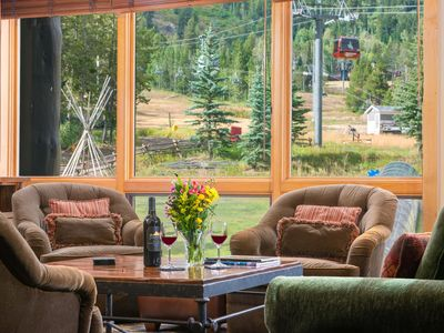 Photo for RMR: Ski In/Ski Out Luxurious 1 Bedroom with Loft in Teton Village