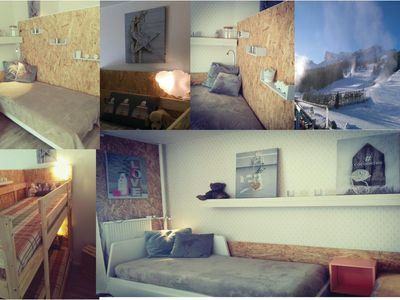 Photo for Apartment foot of the slopes superdevoluy. Terrace and mountain views