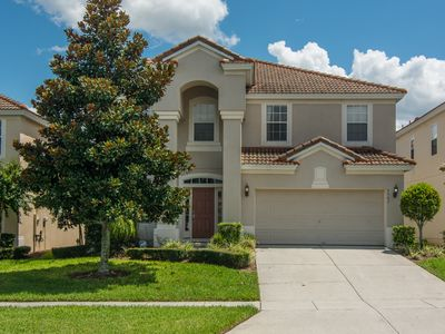 Photo for Executive Home - South Facing Pool - 3 Miles to Disney - Gameroom!!