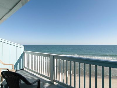 Photo for Top floor oceanfront condo with expansive coastline views
