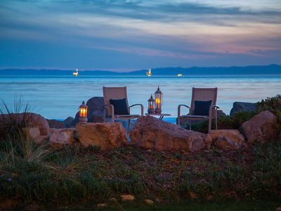 Photo for Sandyland Cove Retreat - Beachfront Comfort in Carpinteria- Available by the Month
