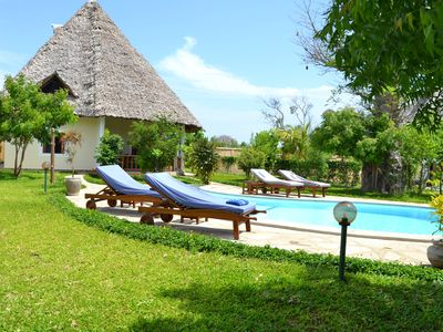 Photo for Dream Villa Maisha Bora for 4 to 6 people, pool incl. House keeping & Cook
