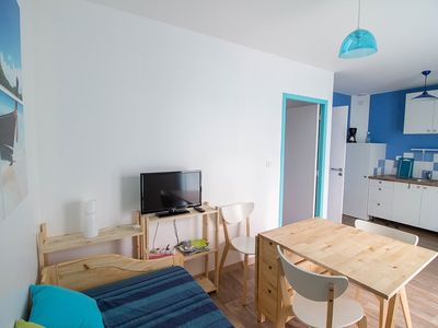 Photo for Charming Apartment 30 m2 - 4 people - WIFI / BARBECUE - STE EULALIE EN BORN
