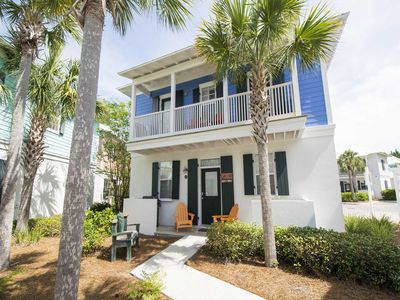 Photo for Beautiful and Spacious Bungalow in Seagrove With Private Balcony. Steps to the Pool and Short Walk to the Beach!