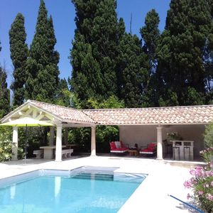 Photo for VERY PRETTY MAS PROVENCAL IN STONES - PRIVATE POOL AND GARDEN LANDSCAPE