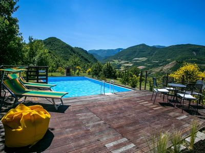 Photo for Renovated old tower with private pool, wi-fi, pet-friendly, Le Marche