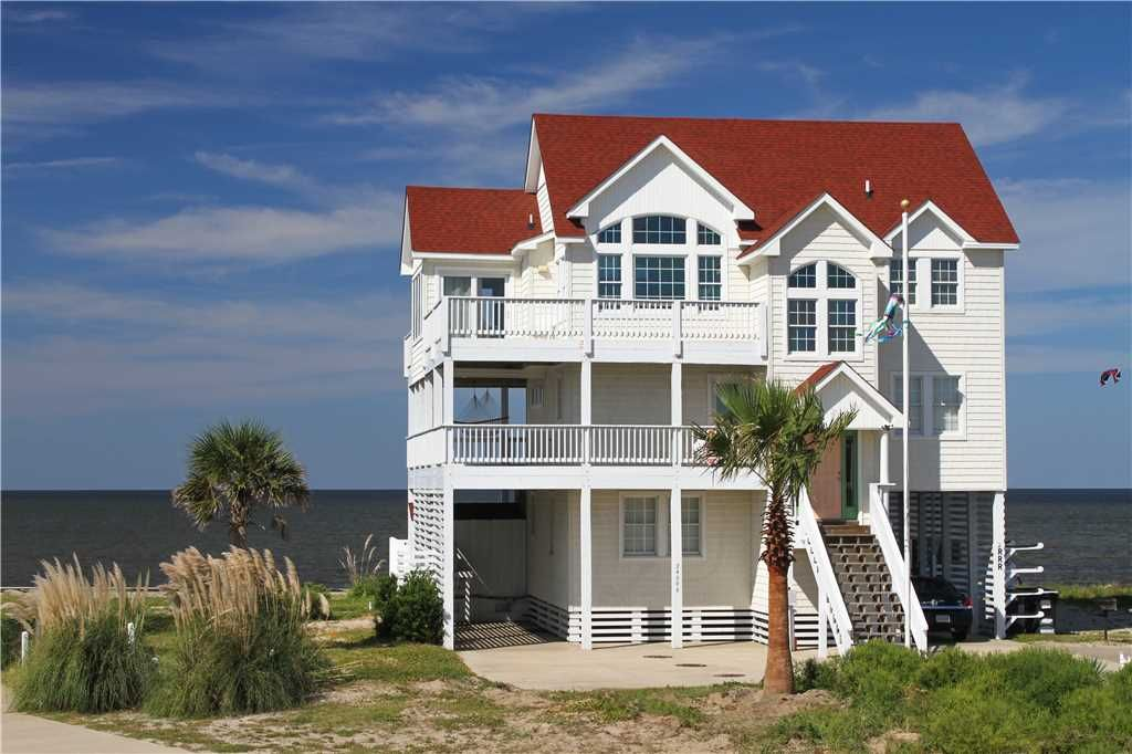 Soundfront in rodanthe w htd pool hottub r homeaway for Hatteras cabins rentals