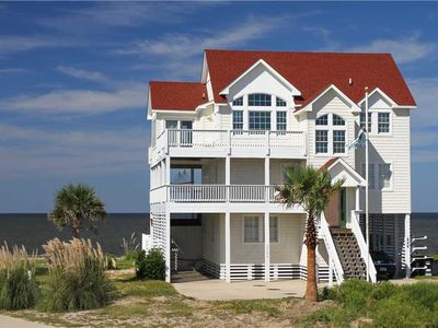 Photo for SOUNDFRONT in Rodanthe w/Htd Pool&HotTub, RecRoom, Pets