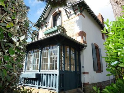Photo for ANCIENT VILLA OF CHARACTER - TWO STEPS AWAY FROM THE AV. DE GAULLE AND BEACH