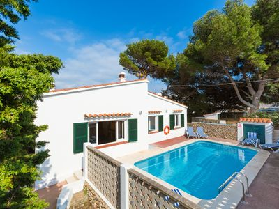 Photo for Villa Trepuco Uno: Large Private Pool, Walk to Beach, A/C, WiFi, Car Not Required