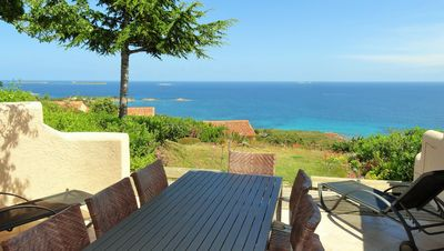 Photo for House Palombaggia 2/8 P. Panoramic sea view. Above the beaches