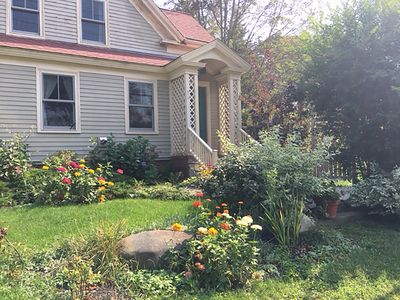 Photo for Peaks Island farmhouse with beautiful yard and gourmet kitchen