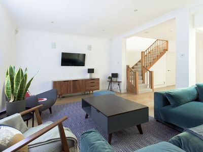 Photo for The Harrods Mews - Modern 4BDR Mews Home with Rooftop Terrace & Garage