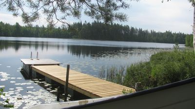 Photo for Wohng. f. 2Pers, Waldsee near Vimmerby, Ruderb., Eig. Jetty-free 4.-11. 8th.from 24. 8.