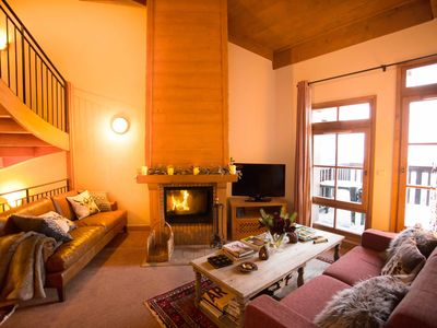 Photo for Stunning Triplex Ski-In-Ski-Out Four Bedroom Chalet Apartment in Les Arc1950