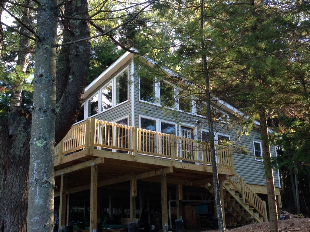 September is lovely in maine enjoy it our vrbo for Cabin rentals in maine with hot tub