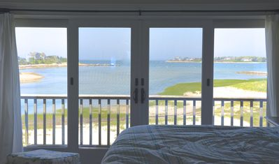 Photo for Spectacular Waterfront Cape Cod Home, Oceanfront and Beach,AC,Wifi Deck w Grill!