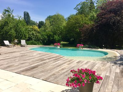 Photo for Villa 200 m2 Swimming pool with overflow & raised garden 3000m2