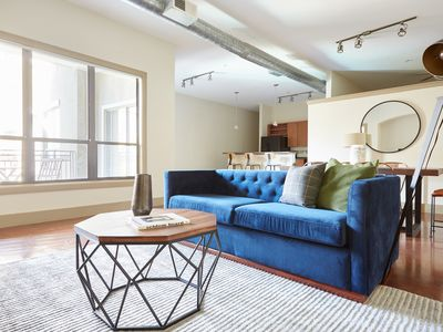 Photo for Sonder | Ballpark Lofts | Dashing 2BR + Balcony