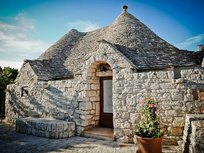 Photo for trullo with 3 bedrooms and two bathrooms