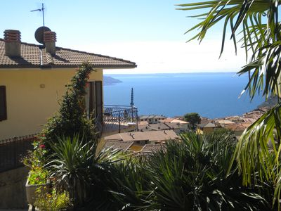 Photo for Quiet apartment in Tignale-Olzano welcome with stunning sea / mountain views, dogs