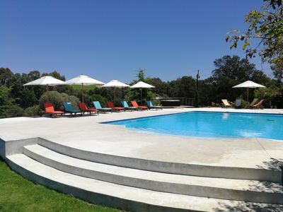 Photo for Country family House with big pool,  Spa- & beauty treatments in Winelands