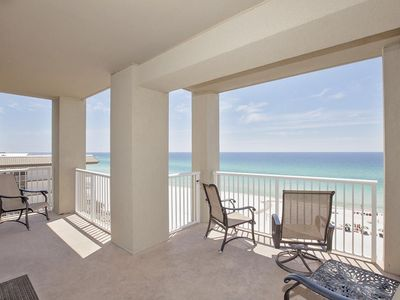 Photo for RIGHT ON THE BEACH! Rare Corner 3/2 Unit, SPECIALS!All Upgrades/free Beachchairs