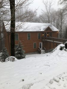 Photo for The Lazy K's Lodge: Prime ski location (Beech), Modern high-alpine family home