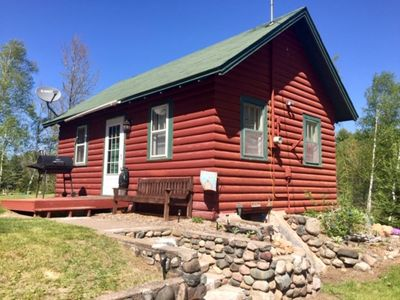 Photo for Vacation cabin rentals nestled on the shores of Lake Tahoe in Mercer, Wisconsin.