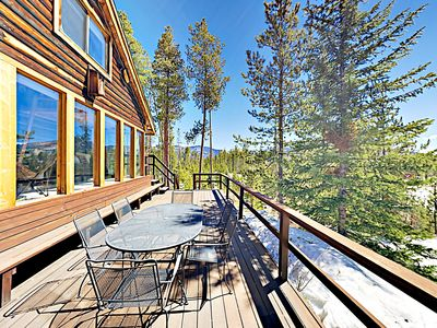 Photo for Secluded Mountain-View Cabin - Near Snowshoe, Snowmobile & X-Country Trails