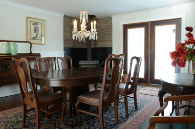 Dining room, leads out to back patio