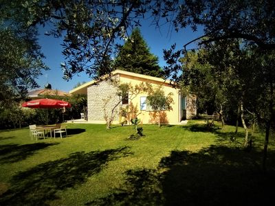 Photo for Family oasis on the lake: quiet detached stylish house in 950m² garden