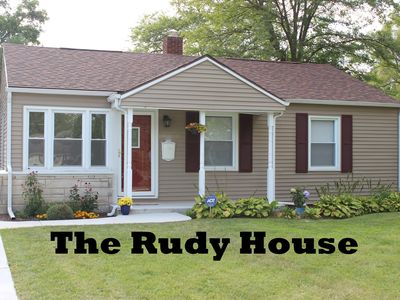 Photo for GREAT LOCATION: The Rudy House - Walk to Notre Dame! (1-Mile from Campus)