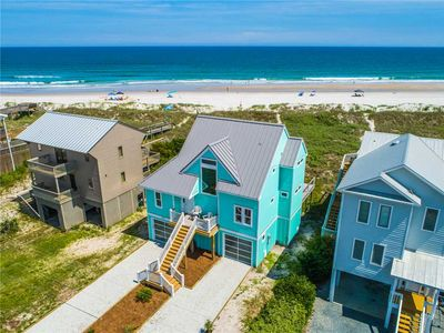 Photo for 3 Sea Men and a Lady: 3 BR / 3 BA oceanfront house in Topsail Beach, Sleeps 6
