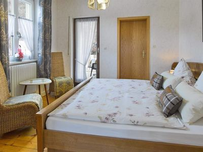 Photo for Double Room with Balcony - Pension Haus am Walde