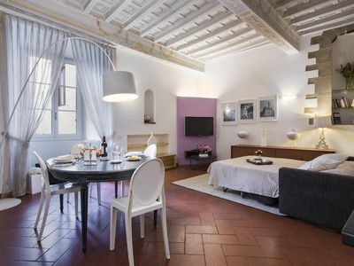 Photo for Terme Studio apartment in Duomo with WiFi, integrated air conditioning & lift.