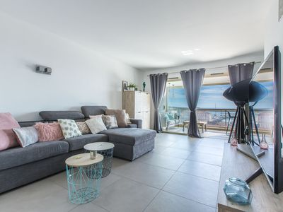 Photo for Amazing Seaview Luxury Apartment in Cannes Center