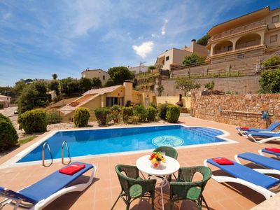 Photo for Vacation home Cala Llorell in Tossa de Mar - 8 persons, 3 bedrooms