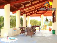 One of the best villas we have ever hired.All basics provided. Very comfortable and quiet. 9
