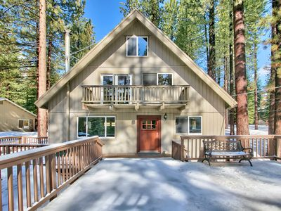 Photo for Sunny Tahoe Chalet, Dog friendly, 3 bedroom, Large fenced yard