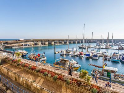 Photo for Brighton marina apartment with views 3 bed 3 bath 5 mins from beach, sleeps 6-7