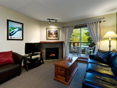 Photo for 58 Glaciers Reach this 1br home has a hot tub & pool in Whistler Village